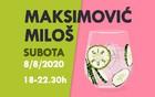 Miloš Maksimović @ Cirkus bar