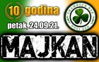 Shamrock Bar Novi Sad 10.rodjendan / Majkan
