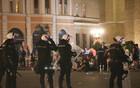PROTEST U NS: Policija privela osam lica, među njima i jedan od govornika