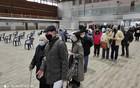 FOTO: Počela vakcinacija građana protiv korona virusa na Novosadskom sajmu
