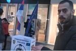 Aktivisti oštetili štand na kom se skupljaju potpisi za oslobađanje Zvezdana Jovanovića