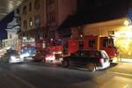 Požar u napuštenom objektu u centru grada