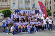 "FOTO: U Novom Sadu održana peta ""DDOR Olimpijska staza"""