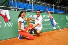 TENIS: Olga Danilović prvakinja Evrope