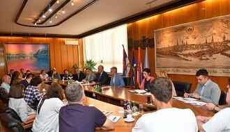 Predsednik Skupštine Grada razgovarao s građanima o očuvanju zelenila kod nove zgrade suda