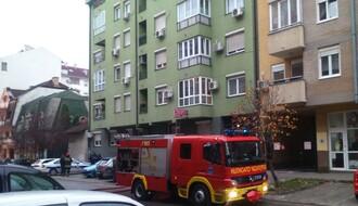 FOTO: Požar u podzemnoj garaži na Grbavici