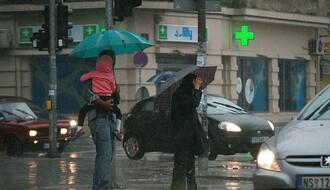 U Novom Sadu oblačno, kišovito i osetno hladnije