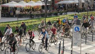 Biciklistički protest odložen za subotu