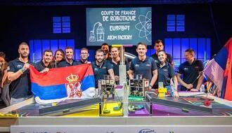 FRANCUSKA: Robotičari sa novosadskog FTN-a doneli Srbiji zlato (FOTO)