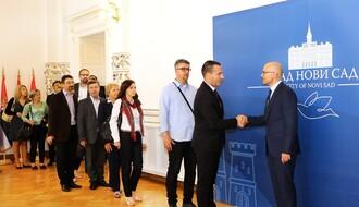 Predstavnici gradova i opština iz Bosne i Hercegovine posetili Novi Sad