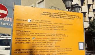 """RADOVI """"TOPLANE"""": Laze Kostića od ponedeljka postaje """"slepa ulica"""""""