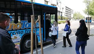 NOVE MERE: Nošenje maski u javnom prevozu od danas postaje obavezno