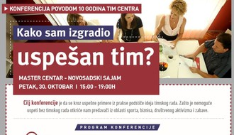Kako sam izgradio uspešan tim: Konferencija povodom 10 godina TIM Centra