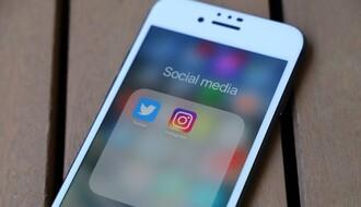 """Pali"" Instagram, Votsap i Mesindžer"