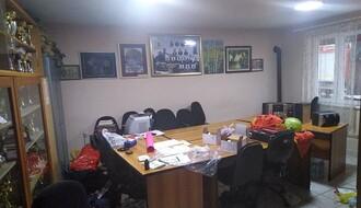 """FOTO: Obijene prostorije Dobrovoljnog vatrogasnog društva """"Petrovaradin"""", šteta ogromna"""