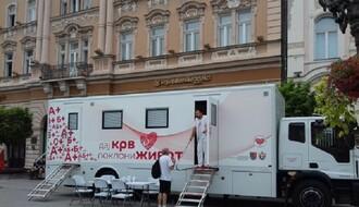 Transfuziomobil na Trgu slobode, dajte dobrovoljno krv od 17 do 19 sati