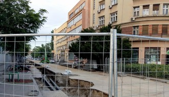 Deo ulice Ignjata Pavlasa bez vode zbog havarije