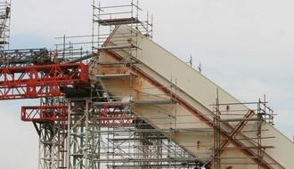 Ugrađen poslednji element drugog luka na Žeželjev most