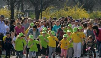 FOTO: Novosađani trčanjem obeležili Međunarodni dan osoba sa Daunovim sindromom