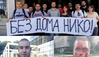 "Napadnuti aktivisti Združene akcije ""Krov nad glavom"" u Novom Sadu"
