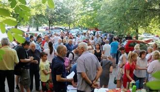 Limanci održali protest protiv izgradnje garaža