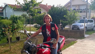 Novosađani: Ponosna majka i humana bajkerka