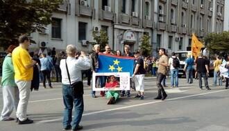 """U Novom Sadu održan novi protest pokreta """"Podrži RTV"""" (FOTO)"""