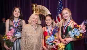 BRAVO, LENKA: Studentkinja harfe iz Novog Sada ostvarila uspeh u SAD
