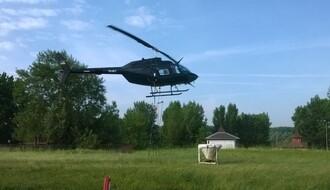 """""""CIKLONIZACIJA"""": Dunavski komarci uništeni iz helikoptera"""