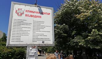 Broj kovid pacijenata u novosadskim bolnicama povećan u odnosu na dan ranije