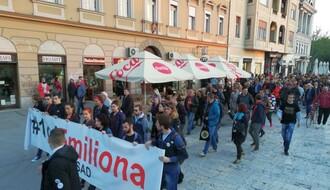 """Protest """"Jedan od pet miliona"""" danas od 19 sati na Pozorišnom trgu"""