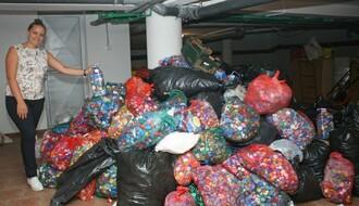 """ČEPOM DO OSMEHA"": Deset tona plastike za jedna invalidska kolica (FOTO)"