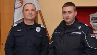 Nagrađeni policajci koji su spasili ženu iz Dunava
