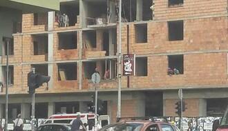 NESREĆA NA GRADILIŠTU: Povređen mladić prilikom pada sa zgrade na Grbavici