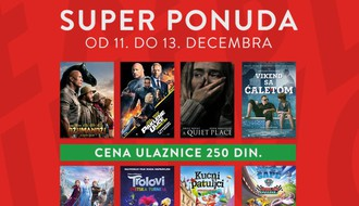 Cineplexx Promenada radiće od petka do nedelje, ulaznice 250 dinara