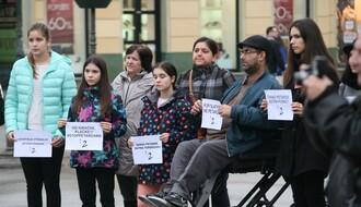 """Protest """"2 minuta tišine"""" protiv petardi i brutalnosti"""