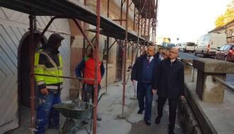 FOTO: Gradonačelnik obišao podgrađe Petrovaradinske tvrđave