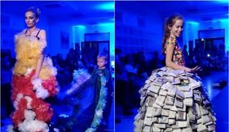"""RECIKLIRANA MODA: Na FIMEK-u održano """"Green Fashion"""" veče (FOTO)"""