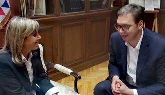 """MAJA PAVLOVIĆ KOD VUČIĆA: Država će se uključiti u rešavanje problema """"Kanala 9"""""""