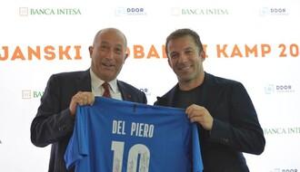 Legenda italijanskog fudbala Alesandro Del Pjero otvara Italijanski fudbalski kamp za 2021. godinu