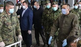 Vulin: Od Kovida-19 preminula tri pripadnika Vojske Srbije