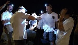 Novosadski Brica ponovo u originalnoj akciji (FOTO i VIDEO)