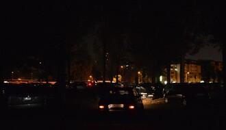 Parking kod Štranda: Neosvetljen, neobezbeđen, a košta