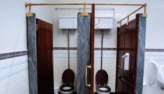 Prostačko upozorenje u toaletu Pokrajinske vlade (FOTO)