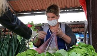 """""""TRŽNICA"""": Obavezno nošenje maski na svim gradskim pijacama i na Najlonu"""