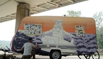 Završeno oslikavanje OPENS kampera (FOTO)