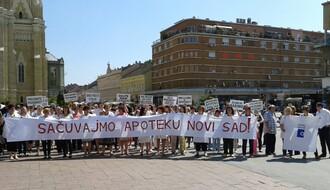 Drugi protest apotekara: Gradske vlasti su sve vreme znale šta se dešava (FOTO)