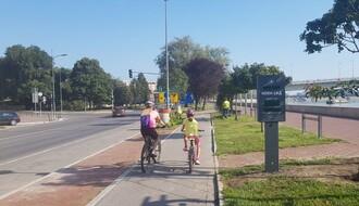 Na tri lokacije u gradu postavljeni brojači saobraćaja sa displejima za bicikliste (FOTO)