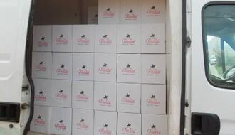 Policija u Novom Sadu zaplenila 700 kg duvana i 1.656l alkohola
