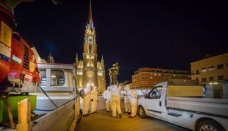 """FOTO: """"Ciklonizacija"""" dezinfikuje i cele blokove u okolini bolnica i domova zdravlja"""